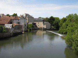 Civray on river